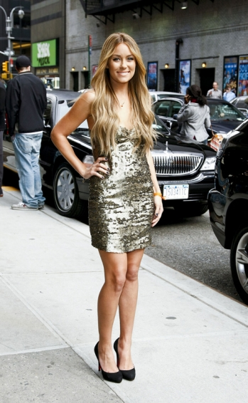 Lauren Conrad at David Letterman