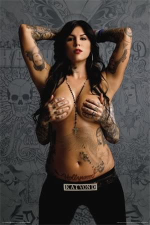 New Tattoo Style - Style Icon: Kat Von D tattoo art collection