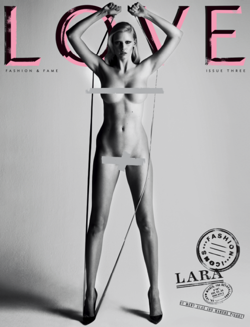 picture 96 Model Milla Jovovich goes nude for Purple Fashion # 12. Image TFS