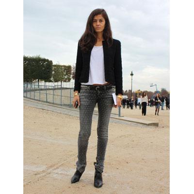 Fashion Week 2010 Paris on Street Style During Paris Fashion Week Spring 2010   Fashionspirations